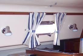 Blinds For Boats Blinds Boat Curtain Nautical Window Treatments Boat Decorating