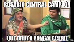Memes Central - rosario central ce祿n que bruto p祿ngale cero meme de que bruto