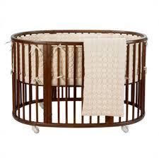 Oval Crib Bedding Dwellstudio Organic Oval Crib Bedding Collection Organic