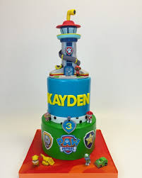 paw patrol tower cake cake in cup ny