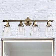 Gold Bathroom Light Fixtures Brilliant Vanity Lights Jeffreypeak Gold Bathroom Light Fixtures
