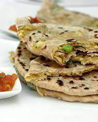 cuisine indienne vegetarienne recette de pains indiens gobhi parantha de cuisine indienne