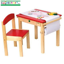 guidecraft childrens table and chairs art table and chair set red rooms and room