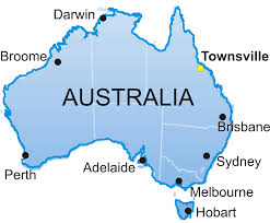sydney australia map map of australia with sydney major tourist attractions maps