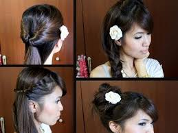 simple hairstyles for relaxed hair school hairstyles for medium hair easy with 28 more ideas