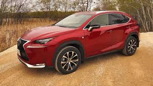 red lexus 2015 2015 lexus nx 200t f sport test drive review