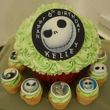 little paper cakes the nightmare before christmas giant cupcake
