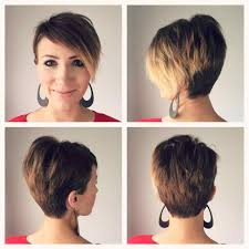 short pixie stacked haircuts hairstyles stacked pixie haircuts back view bob haircut short