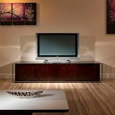 Glass Tv Cabinets With Doors by Modern Tv Cabinet Stand Black Glass Stainless Steel Rosewood 131