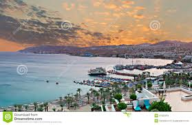 aerial view on the gulf of eilat israel stock photo image 41525919