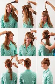 an updo from the 50s with a modern twist post your free listing