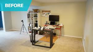 Modern Simple Office Table View In Gallery Organized Astounding Inspiration Small Home
