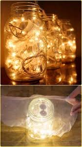 how to make mason jar lights with christmas lights diy hanging mason jar mason jar fairy lights instruction diy