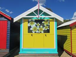 beach huts w a n d e r l u s t z i n e