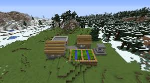 file minecraft snow village 1 8 3 plains village small tiny by
