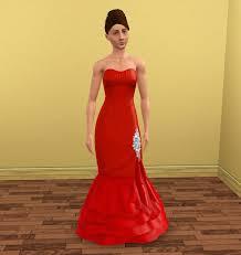 katniss everdeen wedding dress costume mod the sims katniss everdeen