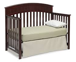 How To Convert A Graco Crib Into A Toddler Bed Graco Charleston Convertible Crib Cherry Baby
