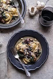 porcini mushroom gravy recipe serious taleggio ravioli half baked harvest