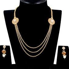 Buy Alankruthi Pearl Necklace Set Pearl Necklace Sets Online India Jewelry Ufafokus Com
