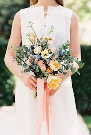 blue wedding bouquets blue wedding flower photos ideas brides