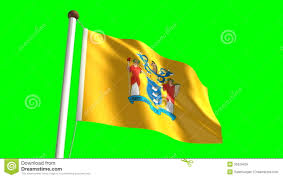 New Jersey State Flag Colors New Jersey Flag Stock Video Illustration Of Colored 35329459