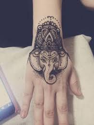 elephant head henna tattoo best henna design ideas