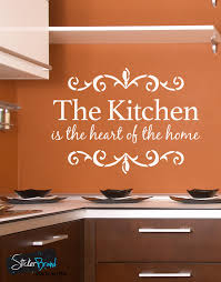 kitchen is home quote vinyl wall decal 6079