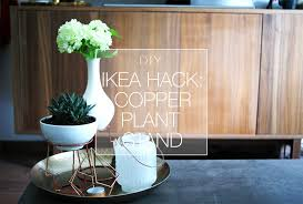 diy ikea hack copper plant stand make u0026mess