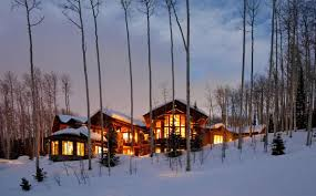 Winter Houses Architecture Comfortable Mountain House Living Requires
