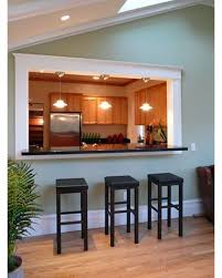 Kitchen Pass Through Design Pass Through Opening Kitchen Pinterest Stools Hallway Walls
