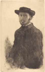 Lui Meme - top impressionist paintings edgar degas self portrait edgar