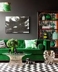 Green Sofa Living Room 30 Lush Green Velvet Sofas In Cozy Living Rooms