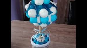 bonbon baby shower diy arbre à bonbons diy sweet trees youtube