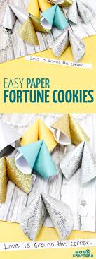 new year s fortune cookies paper fortune cookies easy paper craft for and tweens
