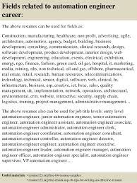 Sample Resume For Download by Senior Automation Engineer Sample Resume 8 Brilliant Ideas Of
