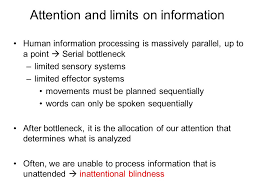 Inattentional Blindness Definition Attention U0026 Change Blindness Ppt Online Download