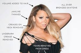 Mariah Carey Meme - this is what mariah carey looks like before and after photoshop