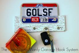 Homemade Gifts For Him by Gifts For Guys Guest Tutorial License Plate Key Hanger By