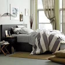 grey stripe duvet cover home design ideas