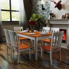Western Dining Room Mediterranean Table Chair Combination Set Pastoral Western Dining
