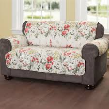 Bottom Of Chair Protectors by Floral Meadow Quilted Furniture Protectors Living Room