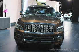 nissan infiniti 2015 la live infiniti qx80 limited edition indian autos blog