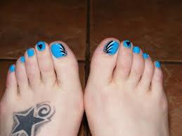 simple nail art designs for beautiful feet u2013 nailkart com