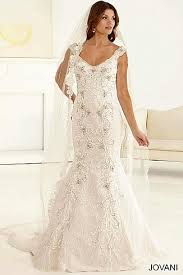 Wedding Dress Sub Indonesia Off White Floor Length Gown With Bell Sleeves And Crystal Adornments