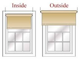 Measuring Window For Blinds Measure For Inside Or Outside Mount Window Treatments U2014 The Inside