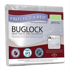 Protecta Bed Mat Protect A Bed Buglock Bed Bug Proof Encasement Waterproof Mattress