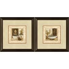 shop 12 in w x 12 in h bathroom framed art at lowes com 12 in w x 12 in h bathroom framed art