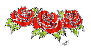 18 three roses designs 100 appealing anchor