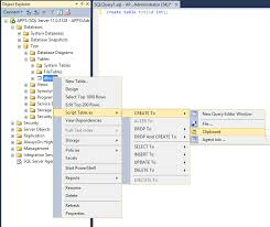 how to view table in sql sql how to view query that was used to create a table stack
