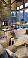 Rustic Living Rooms by Cabin Decor Rustic Interiors And Log Cabin Decorating Ideas